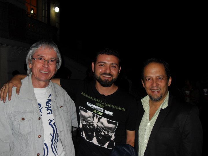 OSCAR SARQUIZ, OMAR BARQUET y PACHO