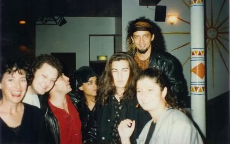 En el Borderline de Londres en 1993, de gira